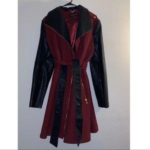 Black Rivet coat